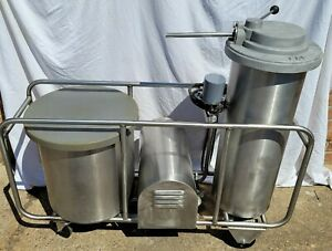 Zuber Pak mobile 100 Lb Sausage Stuffer 1 Most Reliable Stuffer Ever Made
