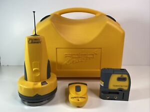 Robotoolz Robo Laser Rt 7210 1 Self leveling Remote Case Robovector Tested