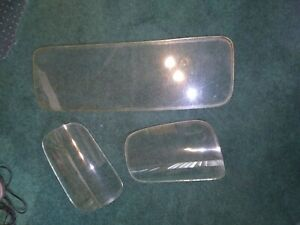 1947 1954 Chevy Truck Window Three Glare Makes Them Look Bad But They Nice