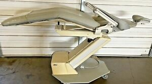 Adec Priority Model 1005 Dental Patient Exam Chair W Gray Upholstery