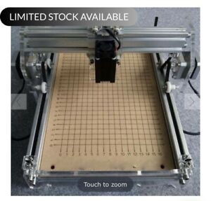 15000 Mw Blue Cnc Laser Engraving Machine 40 X 40 Inches With Rotary Attachment