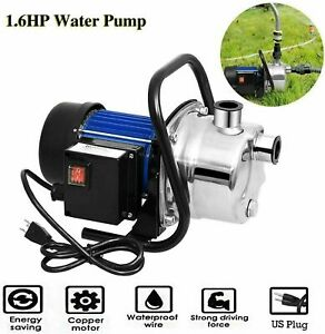 New Listing16hp Stainless Steel Electric Water Pump Garden Sprinkling Irrigation Booster