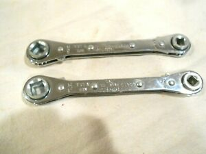 2 ritchie Ratchet Wrenches 60613 Hvac refrigeration 1 4 3 8