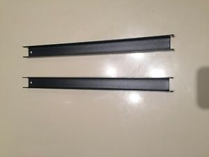 Front To Back Office Specialty Rail Kit Lateral File 2 Pieces