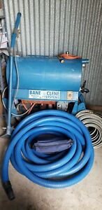 Bane Clene Carpet Cleaner Extractor Boost Vac Pump Wand Hoses Portable Unit