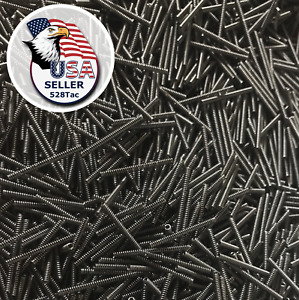 Takedown Pivot Detent Pin Springs For For Tools Machine Carbon Steel 30pc