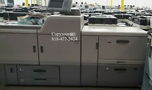 Ricoh Pro C7110x Printer With Large Paper Deck Booklet Maker And Server
