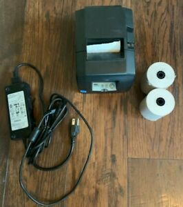 Star Micronics Thermal Printer Model Tsp650 Extra Paper Rolls Included Excellent