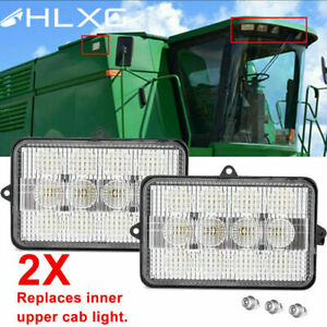 2pc Led Combine Light For John Deere 4890 4895 4990 4995 9560sts 9570sts 9650sts