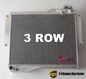 Radiator For Mg Mgb Gt Roadster 1 8l 1977 1978 1979 1980 3 Row Core Aluminum