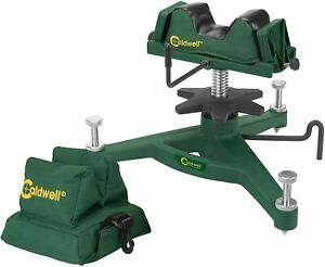 Caldwell the rock deluxe bench rest with rear bag combo 383640 Freeshipping $95.00