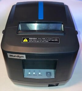 Pos Thermal Receipt Printer Usb Or Lan With Power Supply Usb Cable Brand New