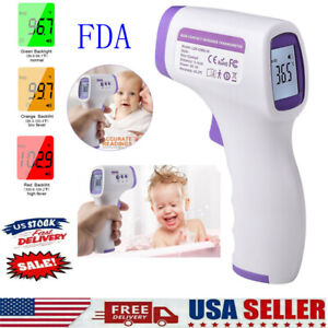 Infrared Thermometer No Touch Digital Laser Forehead Temperature Gun Handheld
