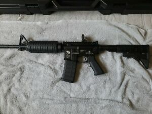 Gas Blowback M4 airsoft with case $200.00