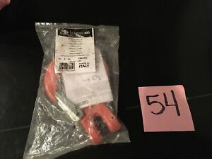 Cartec 100 Cbx10sf 3 8 Orange Painted Clevis Hook With Forged Latch