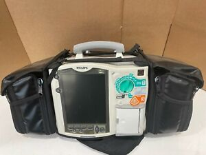 Philips Heartstart Mrx With 12 Lead Ecg Nibp Spo2 Monitor Pacer Carrying Case