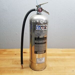 Seco Model 58ss Water Fire Extinguisher 2 5 Gallon Pressurized Used