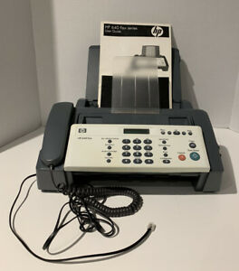Hp 640 Fax Plain Paper Inkjet Quality Fax Copy Phone Machine With User Guide