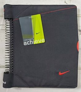 Vintage New Nike Mead 8 1 2 X 11 Notebook With Cover Red Swoosh Nwt
