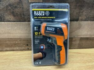 Brand New Klein Tools Ir5 Dual Laser Infrared Thermometer Free Shipping