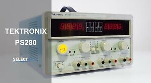 Tektronix Ps280 Triple Dc Output Bench Power Supply look ref 314g