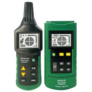 Portable Wire Cable Metal Pipe Locator Detector Tester Line Tracker Cat Iii 300v