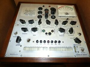 Hickok Tube Tester refurbished parts Only