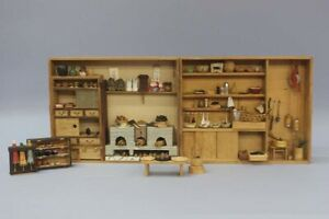 Showa Period Watermaker S Tools Kitchen Set Miniature Furniture For Chicks