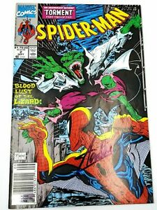 Stan Lee Hand Signed Autographed 1990 Spiderman Torment #2 Marvel Comic Book COA $249.95