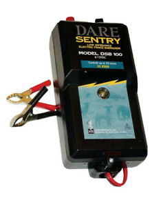 New Dare Sentry 25 acre Electric Fence Charger Energizer Dsb100
