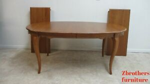 Ethan Allen Dining Table French Country Banquet Conference