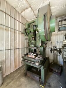 Used 60 Ton Punch Press 4 Stroke