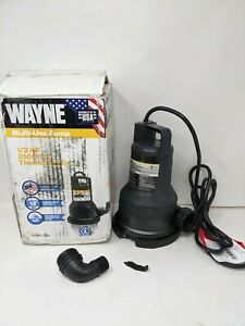 Read Wayne Vip50 1 2 Hp Thermoplastic Portable Electric Water Removal Pump