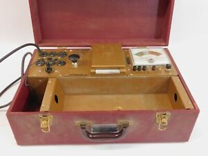Hickok 121 Cardmatic Dynamic Mutual Conductance Tube Tester untested