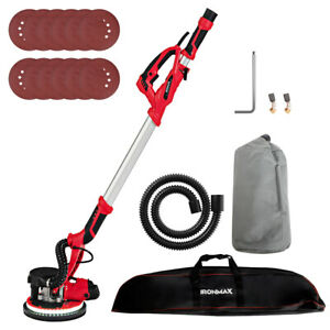 Ironmax Electric Drywall Sander 750w Variable Speed With Automatic Vacuum And