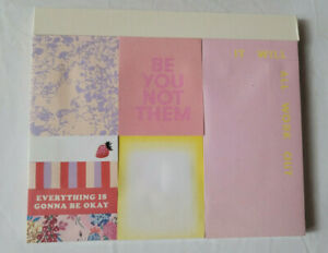 Ban do Bando Sticky Note Set Be You Not Them Assorted Rare Sealed