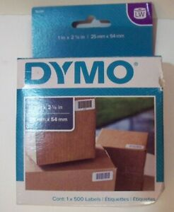 Dymo 30336 Lw Small Multi purpose Labels 1 X 2 1 8 25mm X 54mm 1x500 Labels