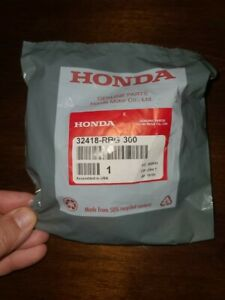 New Oem Genuine Honda Battery Cable Terminal Cover Positive Red 32418 Rbg 300