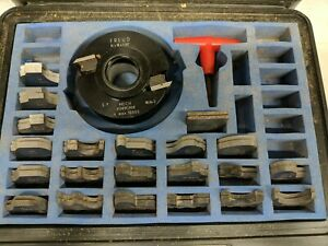 Freud Insert Shaper Cutter Head Set 1 1 4 Bore 22 Pairs Of Knives Misc Profiles