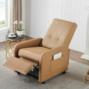 Multifunctional Sofa Chair And Adjustable Lounge With Side Storage Bag Bedroom