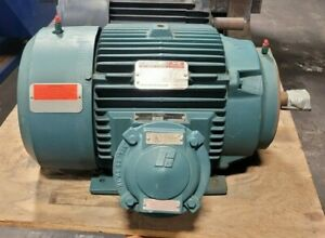 New Reliance Duty Master 15 Hp Motor 460 Vac 3 Phase 254tc 3525 Rpm Tefc 16 9a