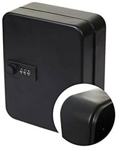 Steel Key Cabinet Security Box Wall Mount With Combination Lock