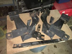 Fisher Minute Mount Plow Push Plates Ford Trucks