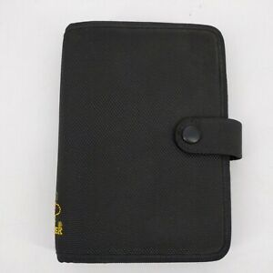 Day Timer Compact Classic Planner Organizer Black 6 Ring Binder 7 5 X 5 Index