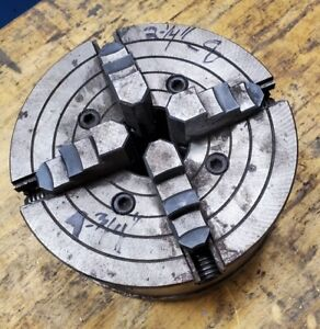 4 Jaw Chuck 2 1 4 8 Thread Off A South Bend Lathe