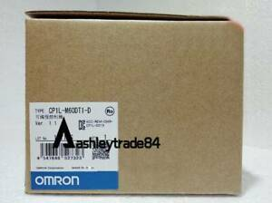 New Omron Cp1l m60dt1 d Plc Cpu Unit New In Box
