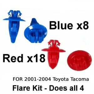 26 Set Fixing Clip For 2001 2004 Toyota Tacoma New Parts Useful Durable Us