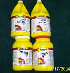 Carpet Cleaning pro s Choice Chemical Package