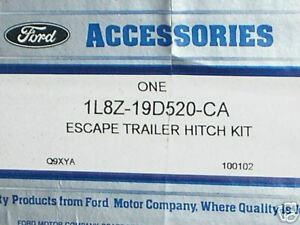 Ford Nos Accessory Trailer Hitch Kit Escape