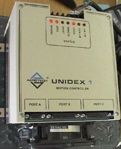 Aerotech Unidex 1 Stepper Motion Controller U1d lm a 40